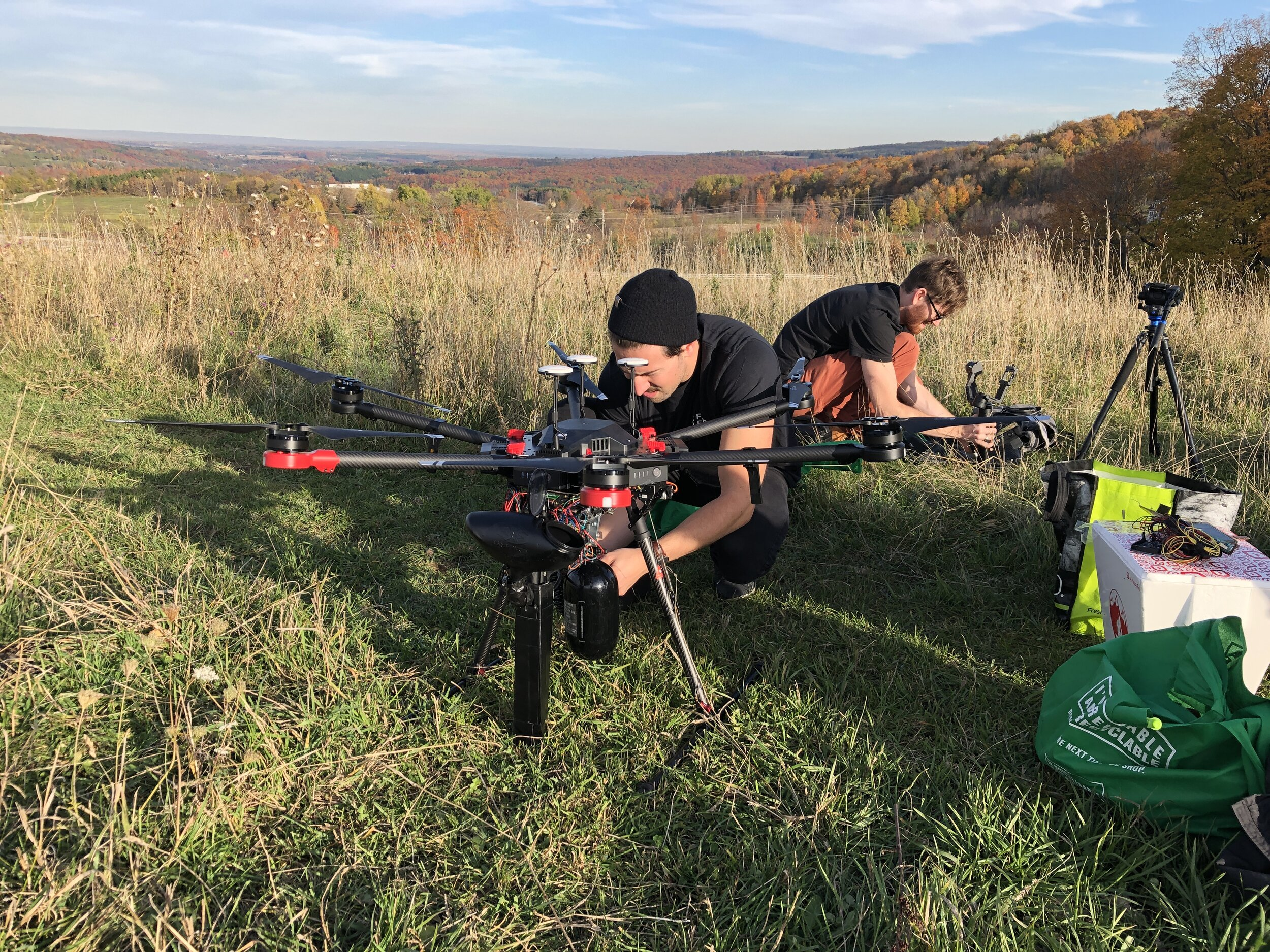 Startup raising funds to plant trees using drone technology