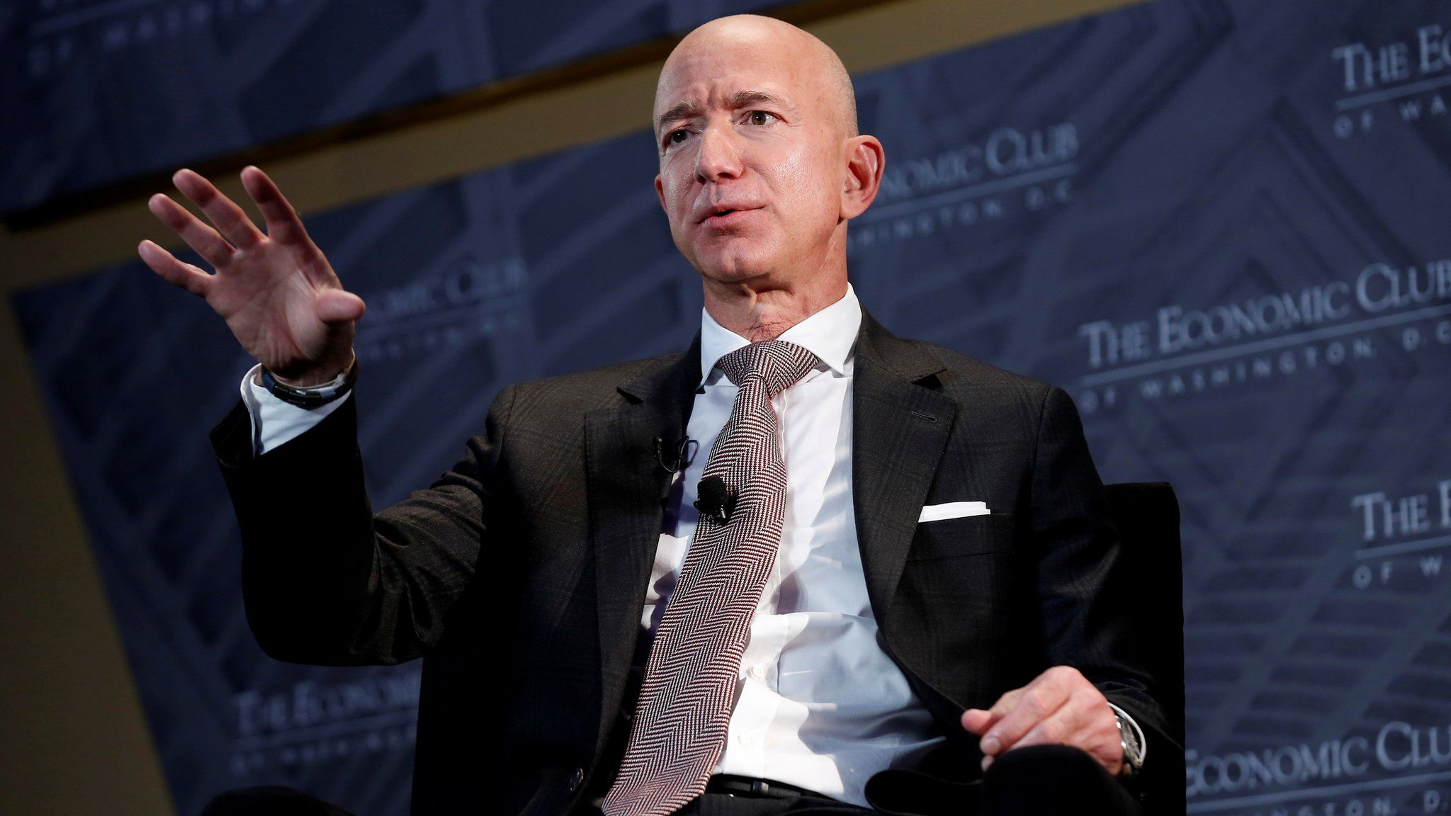 Jeff Bezos steps down as Amazon's Chief Executive