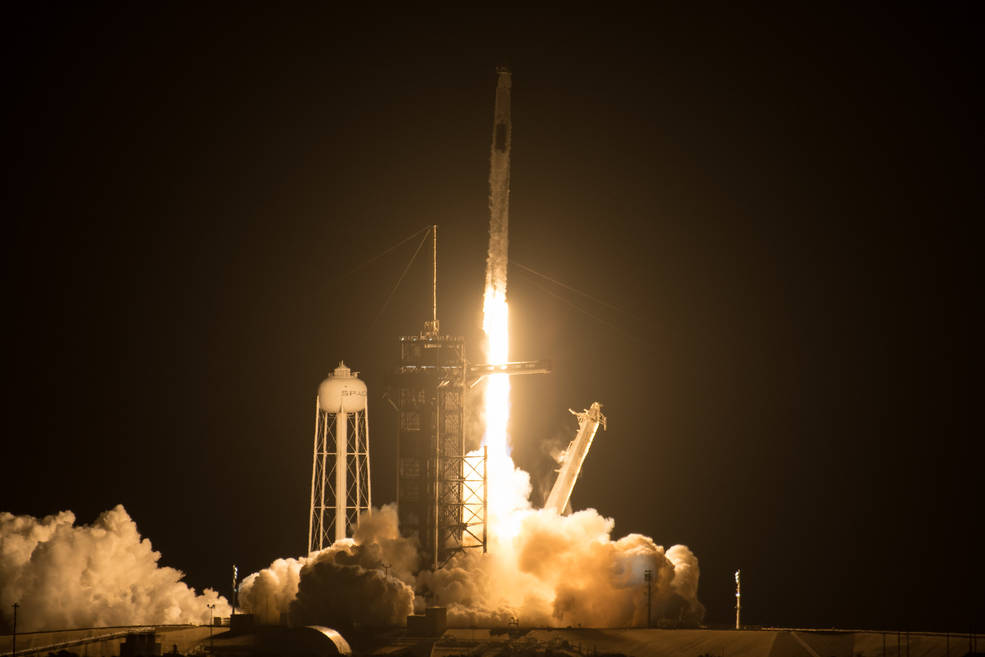 SpaceX launches rocket in a first of its kind mission