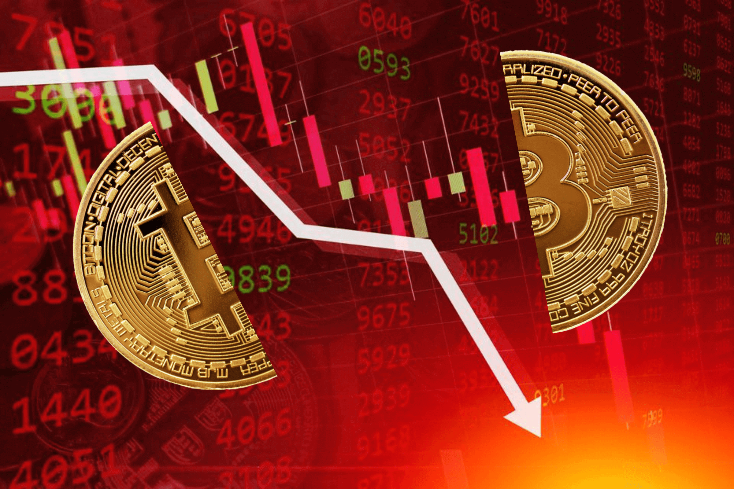 Bitcoins and other digital currencies crash in May