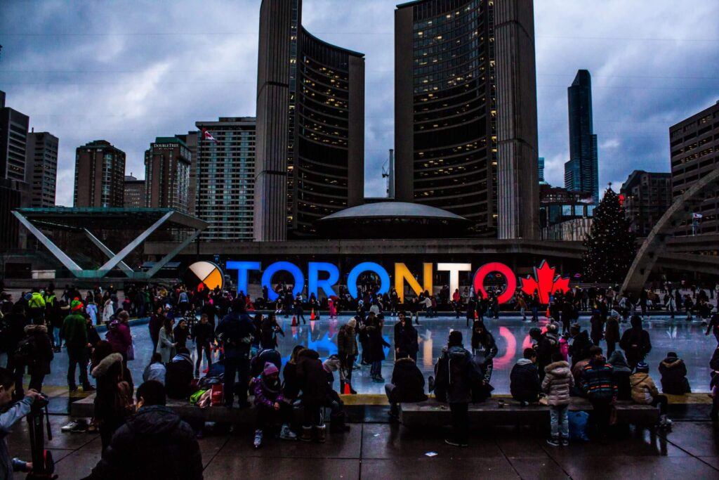 Tech companies compete for Canadian talent