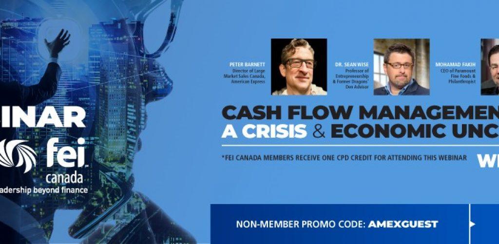 Cash Flow Management webinar